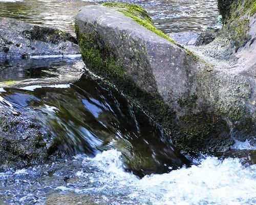 Watery Rocks by 54 luca