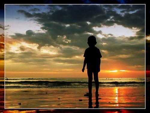 Watching The Sunset by ariandino