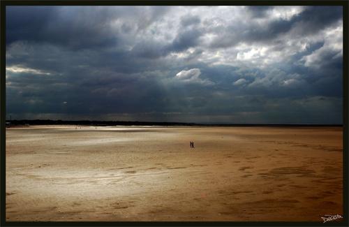 Walk on the beach by dpemberton
