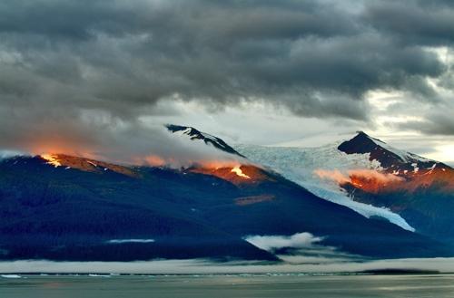 Fiery Sunset by devonshire