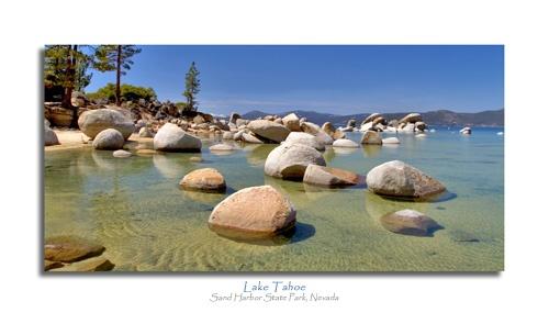 Lake Tahoe by devonshire