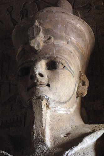 Pharaoh in stone by trudi