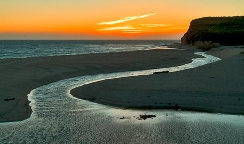 [b]Sunset at Gazos Creek[/b] by devonshire
