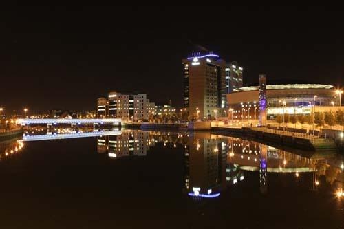 Belfast Night View by gersmudge