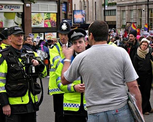 anti - war demo by gill_f