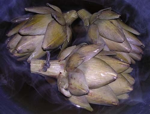 Artichokes by silvina