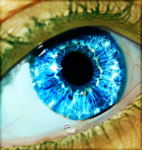 Blue Eye by boiledegg