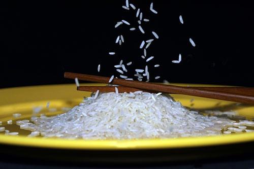 Falling Rice .... by trudi