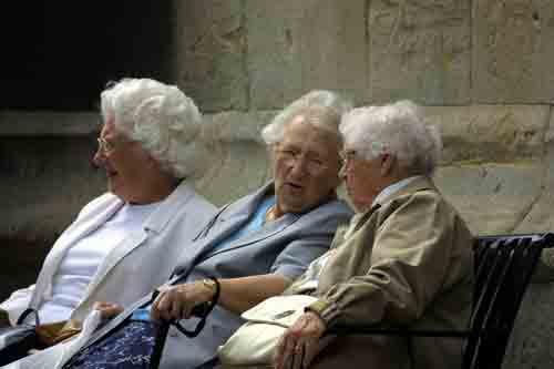 Senior Citizens by pgarwood