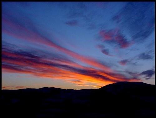 Scottish Sunset by tomfrank