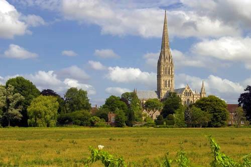 Salisbury Cathedral by Stevo