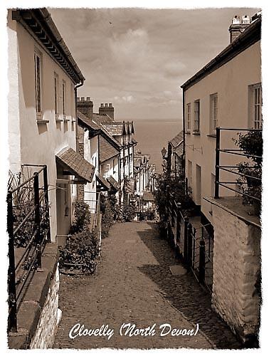 Clovelly, North Devon by Stevo