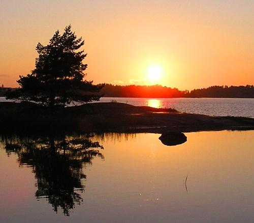 Summer reflections by ojjo