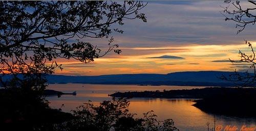 sunset by logari
