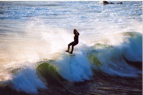 Silhouette Surfer by jonty500