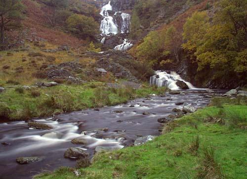 Rhiwargor Falls by Rosie