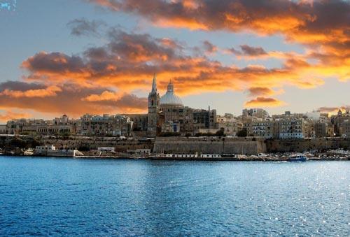 Malta Skyline by donald.foster