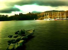 Lake side view..
