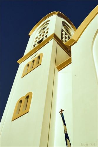 Crete:  Church & Sky by gajj