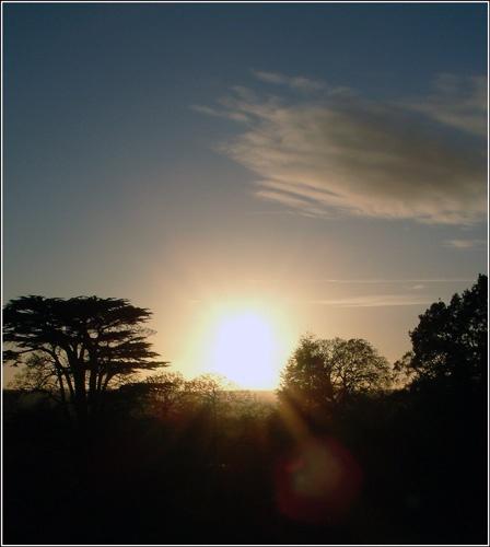 sunset by alexball