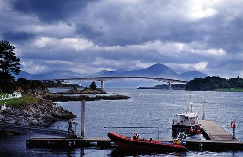 Skye Brige, Scotland by Stevo
