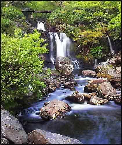 Lomond Falls. Scotland by Stevo