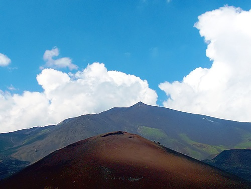 Mt Etna by Caryl