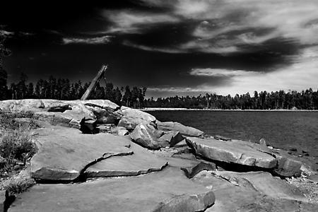 Willow Springs Lake in Arizona by gipperdog
