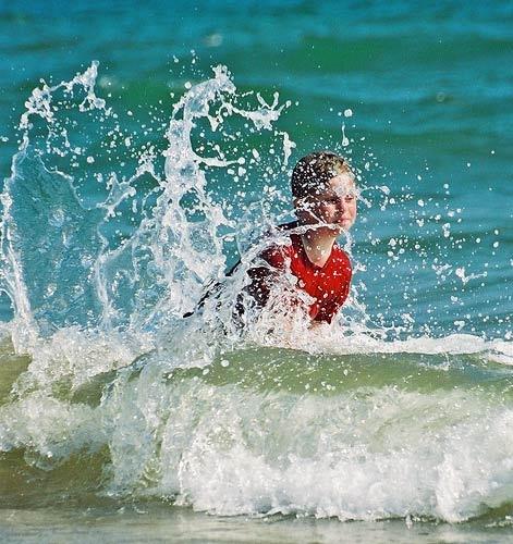 Surfer Boy by MartinWait