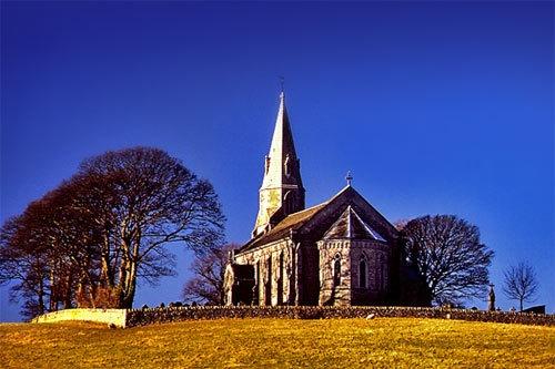 Bardsea Church by victorburnside