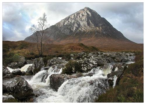 Glencoe Waterfall by Scottishlandscapes