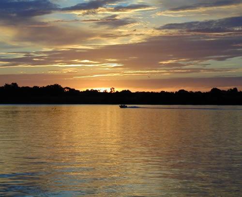 Australian Sunset by patrickfarrell