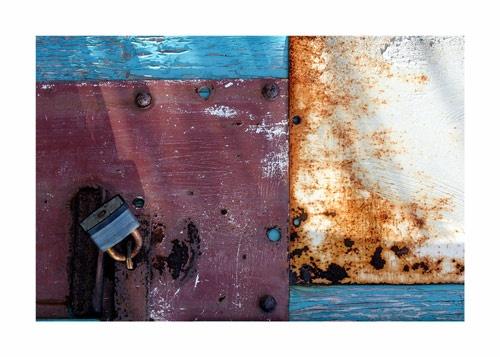 the garage door by amber