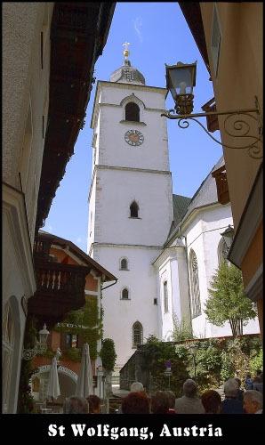 St Wolfgang church, Austria. by Stevo