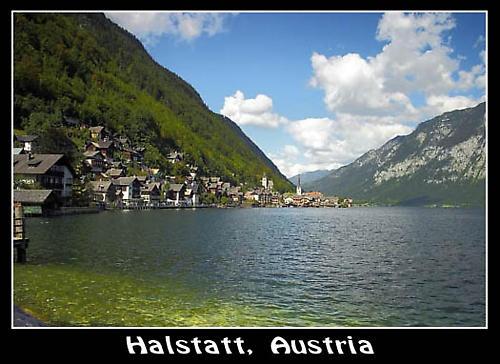Halstatt,  Austria by Stevo