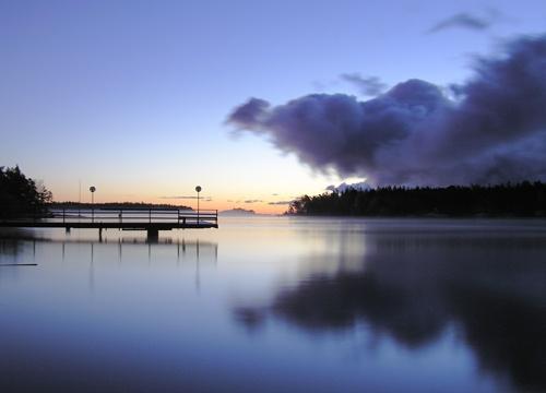 Sunrise clouds by ojjo