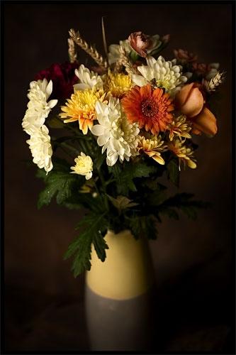 Autumn flowers by kelart