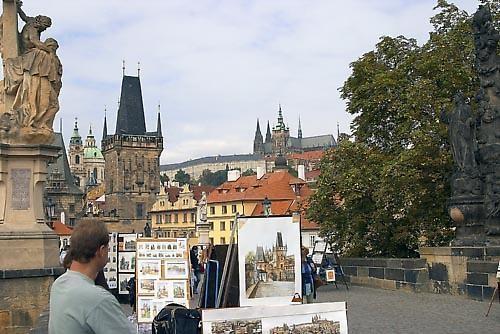 Charles Bridge, Prague by Stevo