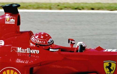 Schumacher at Spa by ptilley