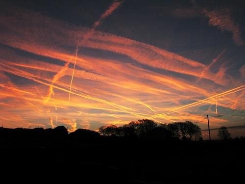 plane tracks by christabella