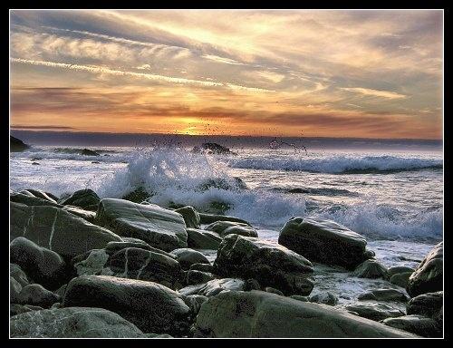 Rocky Shore by kjs