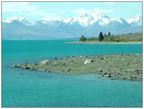 Lake Tekapo by pea