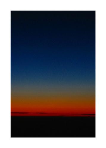 night sky by amber
