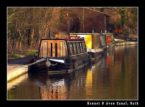Kennet & Avon Canal, Bath by Stevo