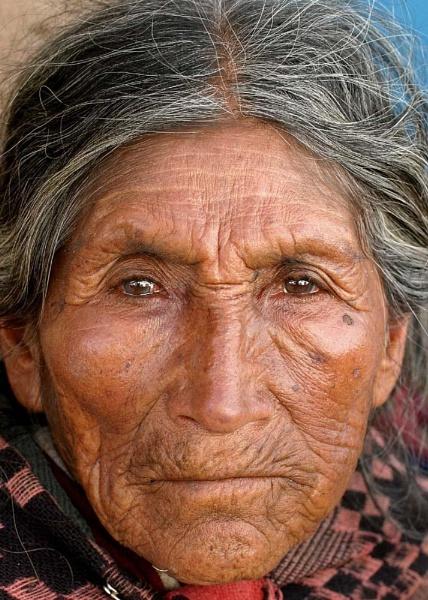 1000K Peruvian Woman by stevie