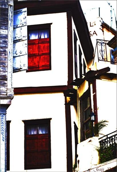 Crete: Red Shutters of Chania by gajj