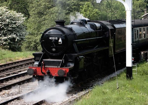 Steam Train by ptilley