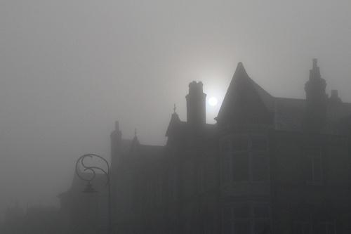 Fog,St Annes-on- Sea by victorburnside