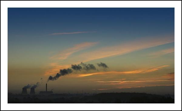 Eggborough Dawn by DenisG