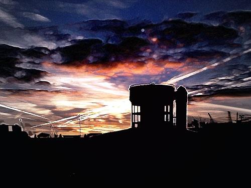 Morning Burst by davecalver